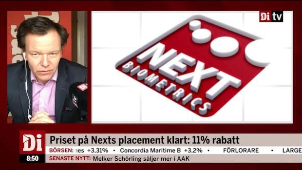 "Petersson: ""Next Biometrics har inte blivit det man trodde"""
