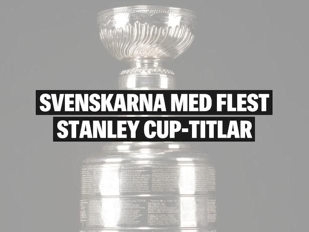 Svenskarna med flest Stanley Cup-titlar