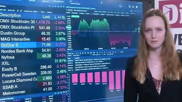 Börsöppning: Samtliga storbolag pekar ner