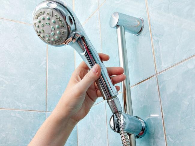 Det finns saker som kan vara skadliga för dig när du duschar.