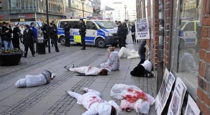 Många handlare i Göteborg lever i skräck för djurrättsaktivister och en del har blivit attackerade i sina hem. Foto: Lasse Svensson