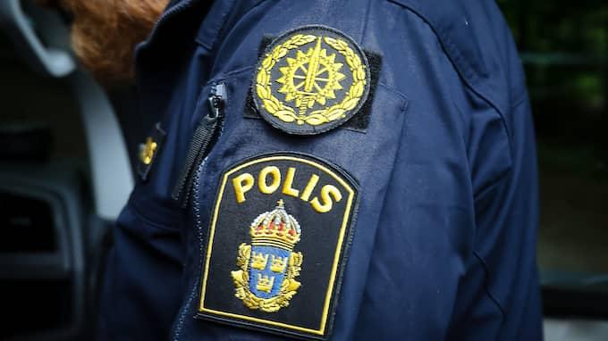 Fyra personer kunde gripas i butiken på torsdagskvällen. De ska vara unga män som är välkända av polisen. Foto: PEO MÖLLER / KVP/EXPRESSEN/GENRE