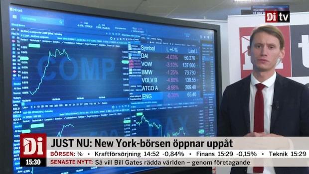 USA-börsen öppnar uppåt