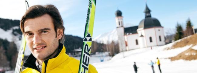 Martin Tauber har åkt längdskidor sedan han var åtta år.