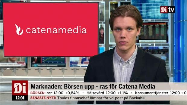 Di Nyheter – Catena Media rasar efter rapport