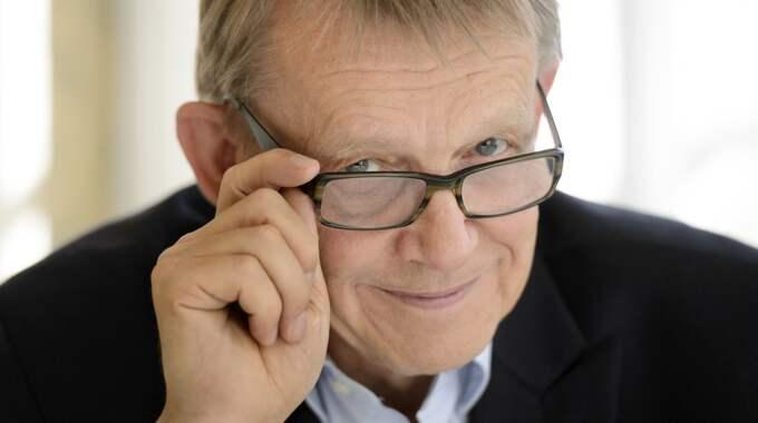 Den internationellt kända professorn Hans Rosling har varit sjuk i cancer och avled på tisdagsmorgonen, med sin familj närvarande. Foto: Henrik Montgomery/ Tt / TT NYHETSBYRÅN