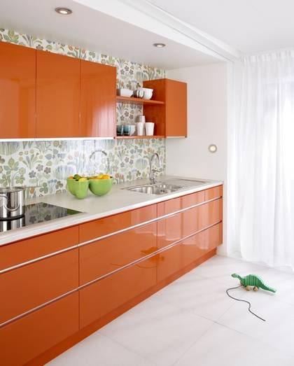Färgstark i orange Leva& bo Expressen Leva& bo