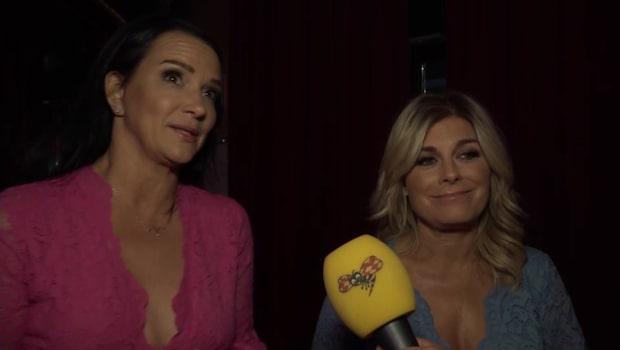 """Sofia Wistam och Pernilla Wahlgren: """"Otroligt känslosamt"""""""
