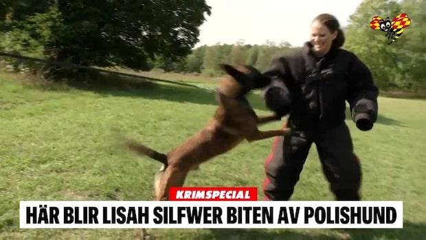 Lisah Silfwer testar polisens arbete