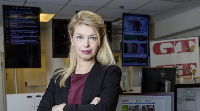 GT:s chefredaktör Sofia Dahlström. Foto: Henrik Jansson