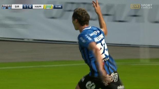 Sirius chockar Hammarby – Haglund nickar in 1-0