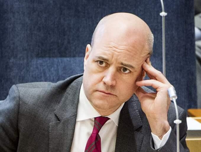 Statsminister Fredrik Reinfeldt vill prata om regeringsfrågan och ansvar för ekonomin. Foto: Jens L'Estrade