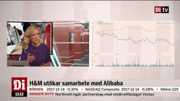 DiTV extrasändning kring H&M:s börsfall