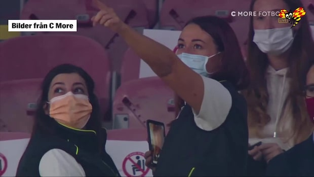 Fina gesten: Milan bjuder in sjukhuspersonal