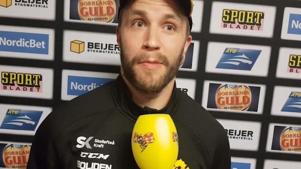 """Petterström efter avgörandet: """"Tajt match"""""""