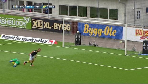 Sundgren bjuder på solomål för AIK