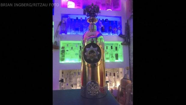 Här stjäls världens dyraste vodkaflaska