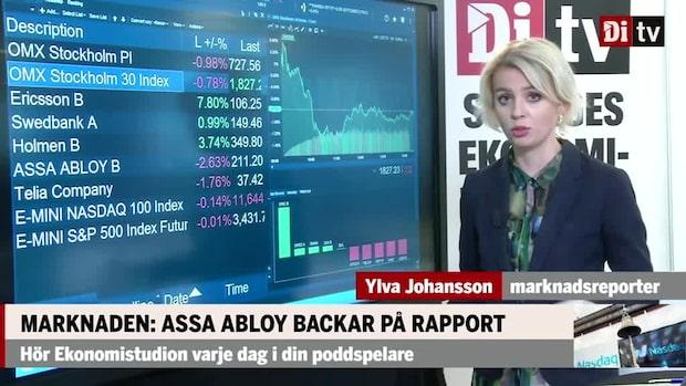 Marknaden: Assa Abloy backar på rapport