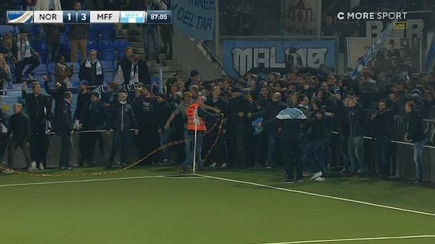 TV: Här stormar fansen planen