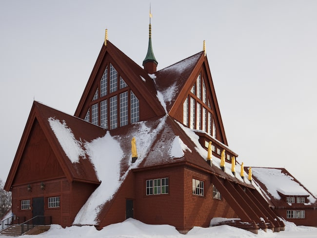 Kiruna är staden som toppar boendesajten Airbnbs nya lista.