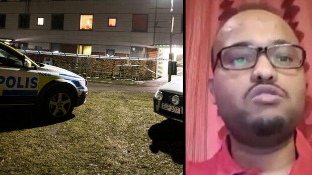 """Boende skakade efter knivmordet: """"Ville inte att mina barn skulle se blodet"""""""