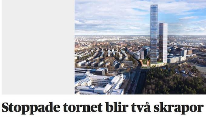 Foto: Skärmdump/Dagens Nyheter