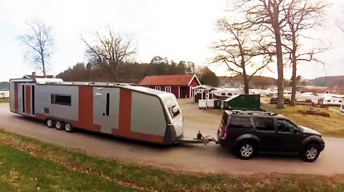 Titta in i Europas största husvagn! | Allt om Bilar