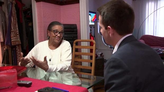 Hon slänger sig efter mannen –  78-åriga Jeanette om rånet