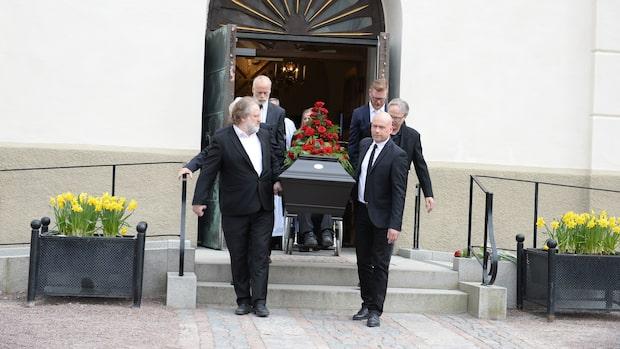 Så var Sven-Erik Magnussons begravning