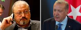 Erdogan: Turkiet kan inte vara tyst om försvinnandet