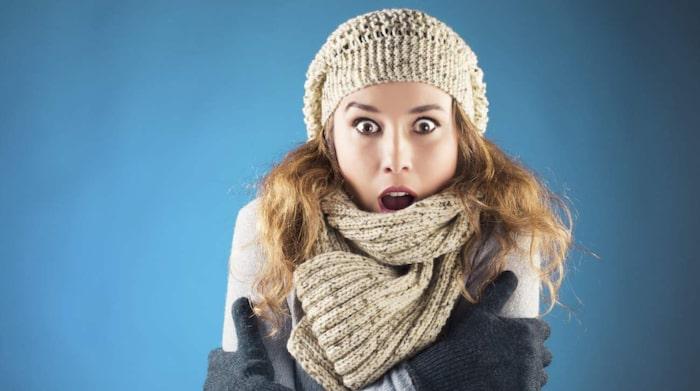 dålig blodcirkulation fryser