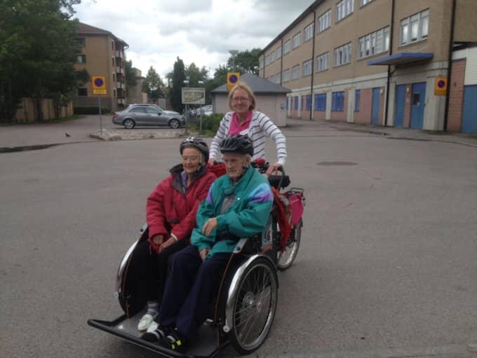 – Det var alla tiders! Det var dåligt väder just i dag, men det där var absolut roligt och väldigt praktiskt också, säger Arne Andersson, 85. Foto: Privat