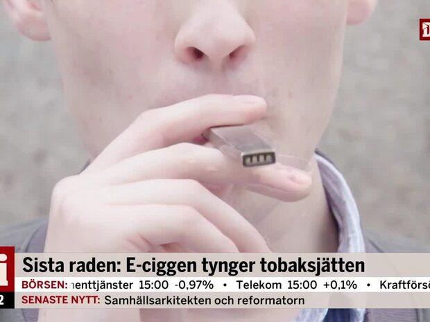 E-cigaretter tynger tobaksjätten