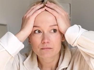 Ellen Bergström i tårar –  efter akuta kejsarsnittet