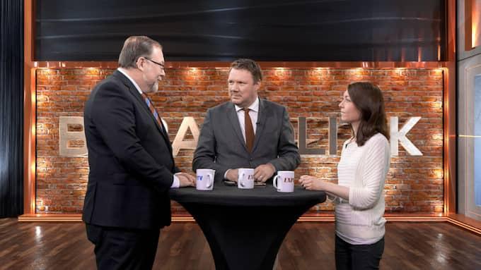 """I kvällens """"Bara Politik – med Niklas Svensson"""" möts toppolitikerna Mikael Jansson (SD) och Maria Ferm (MP)."""