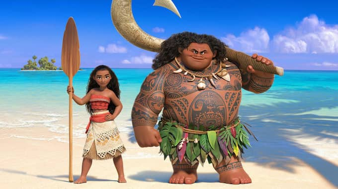 """Bild från Disneys nya storfilm """"Vaiana""""."""