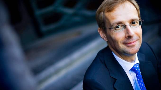 Robert Bergqvist, chefsekonom på SEB. Foto: LARS LINDQVIST / DN / SCANPIX / DN SCANPIX SWEDEN