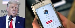 Trump skriver under order som förbjuder Tiktok