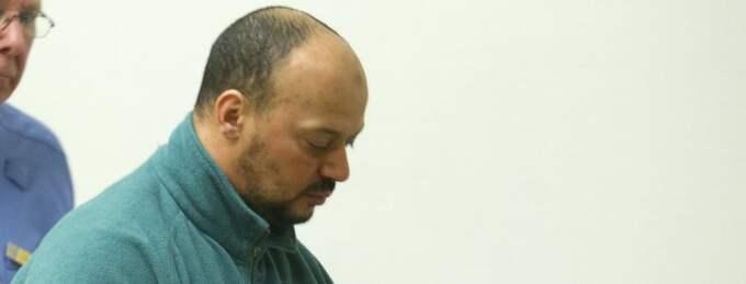 Sabhi Zalouti, 38, åtalad för terrorplaner mot danska tidningar. Foto: Stefan Söderström