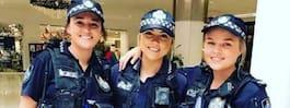 Poliserna la ut bild ihop –nu får de sexistiska svar