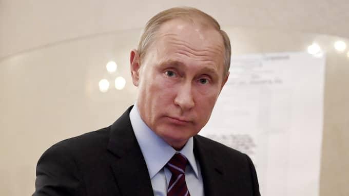 Vladimir Putin. Foto: YURI KADOBNOV / AP TT NYHETSBYRÅN