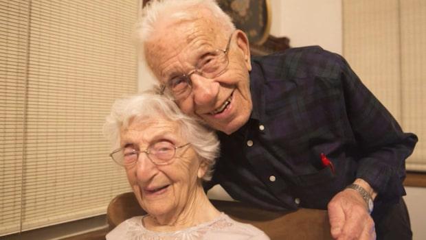 USA:s rekordpar - John och Ann har varit gifta i 85 år