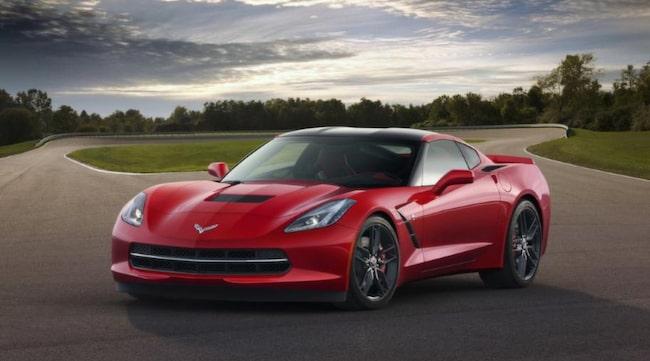 IKON. Helt nya former är vad som gäller för Corvetten som för övrigt ruskar liv det  gamla tillägsnamnet Stingray.