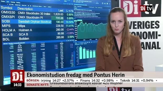 Marknadskoll: Börsen fortsatt stark - Mips och Sobi rusar
