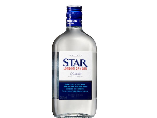 Star London Dry Gin var den fjärde mest sålda gin-sorten på Systembolaget 2017.
