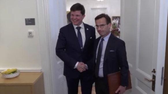 Dramatisk dag i politiken – Kristersson ger upp efter alliansbeskeden