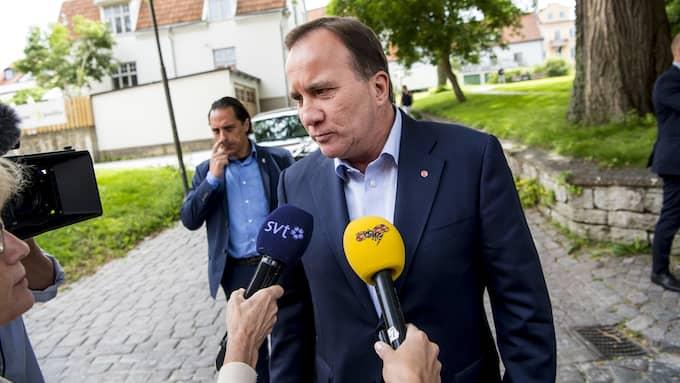 Statsminister Stefan Löfven (S). Foto: CHRISTIAN ÖRNBERG