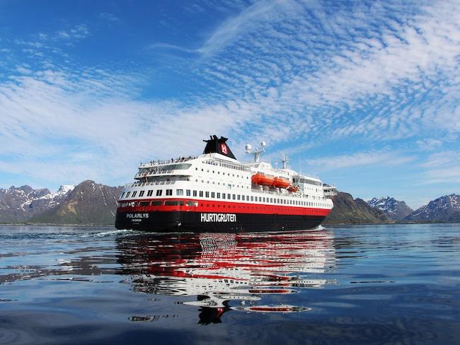 Hurtigruten har trafikerat den norska kusten sedan 1893.