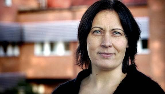 Norra Skånes ansvariga utgivare Mimmi Karlsson-Bernfalk. Foto: Berg Patric