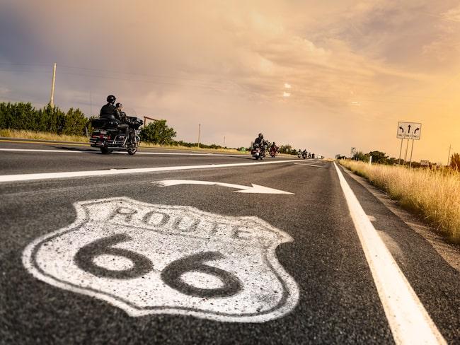 Legendariska Route 66 behöver pengar till underhåll.